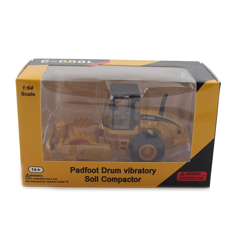 C-Cool Padfoot Drum Vibratory Compactor Collectable 1/64