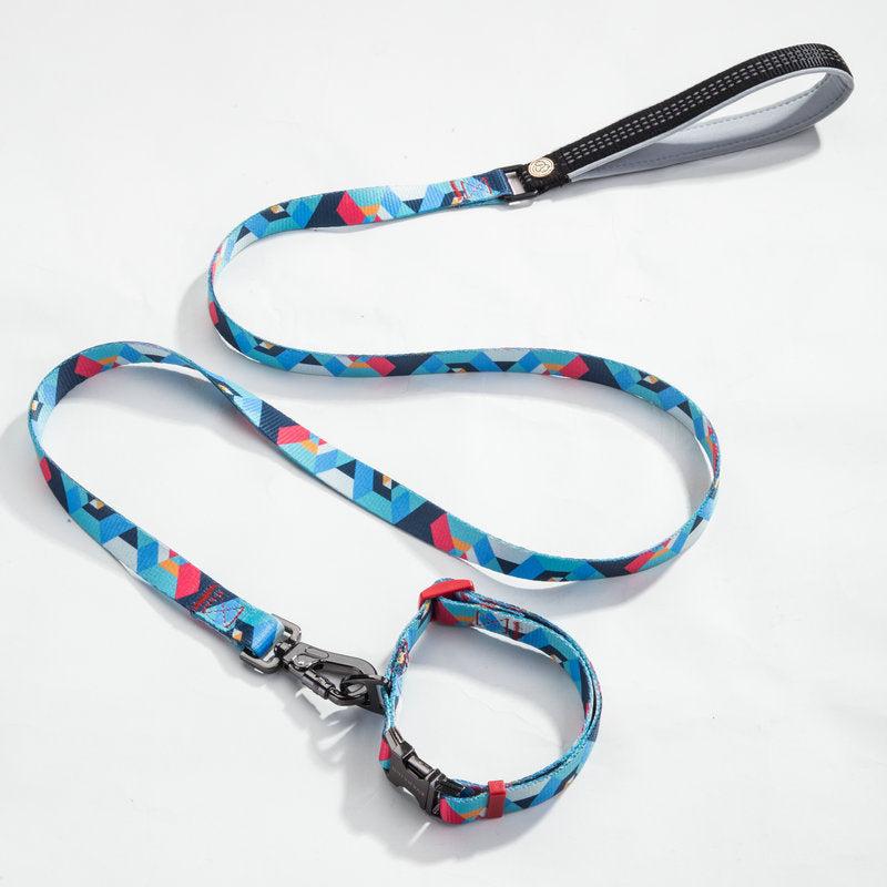 EVERKING Dog Collar and Lead Set