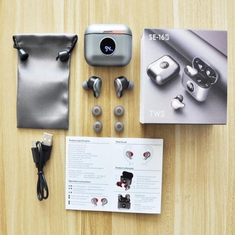 SE-16S TWS Wireless Bluetooth Earbuds