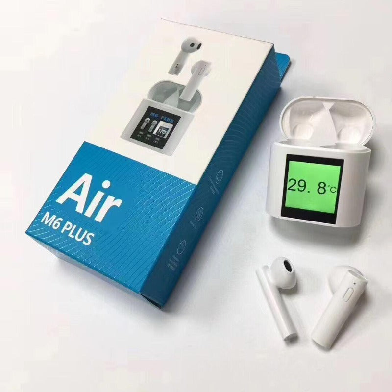 Air M6 Plus Wireless Bluetooth Earbuds