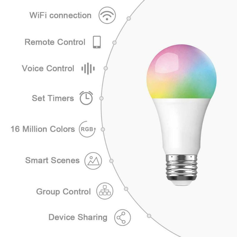 Smart Light LED WIFI RGB+CCT 9W