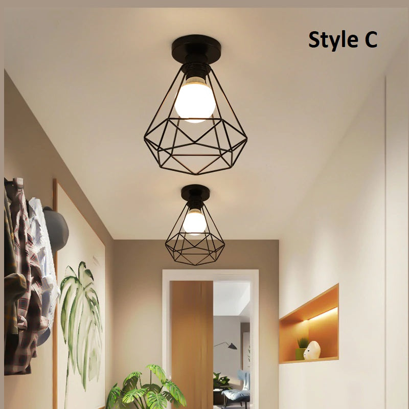Nordic Style Iron Ceiling Lights