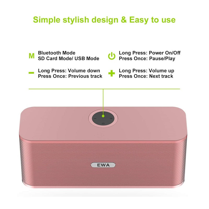 EWA W1 Portable Bluetooth Speaker