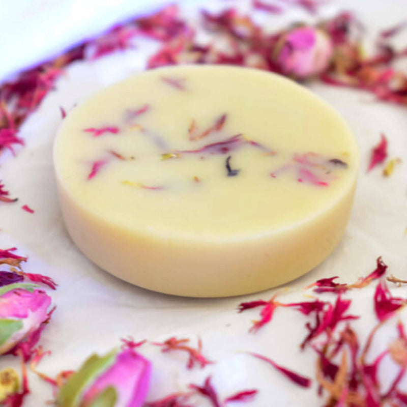 Orange & Geranium Lotion Bar