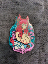 Load image into Gallery viewer, Ahri pins ( Spirit Blossom and Oni) 11/20/20