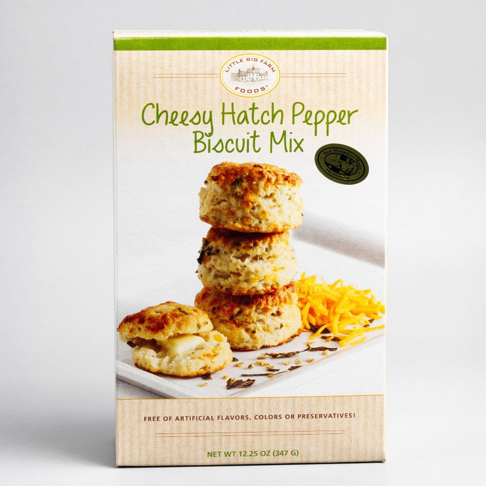 Cheesy Hatch Pepper Biscuit Mix