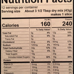 Cranberry Orange Bread Nutrition Facts