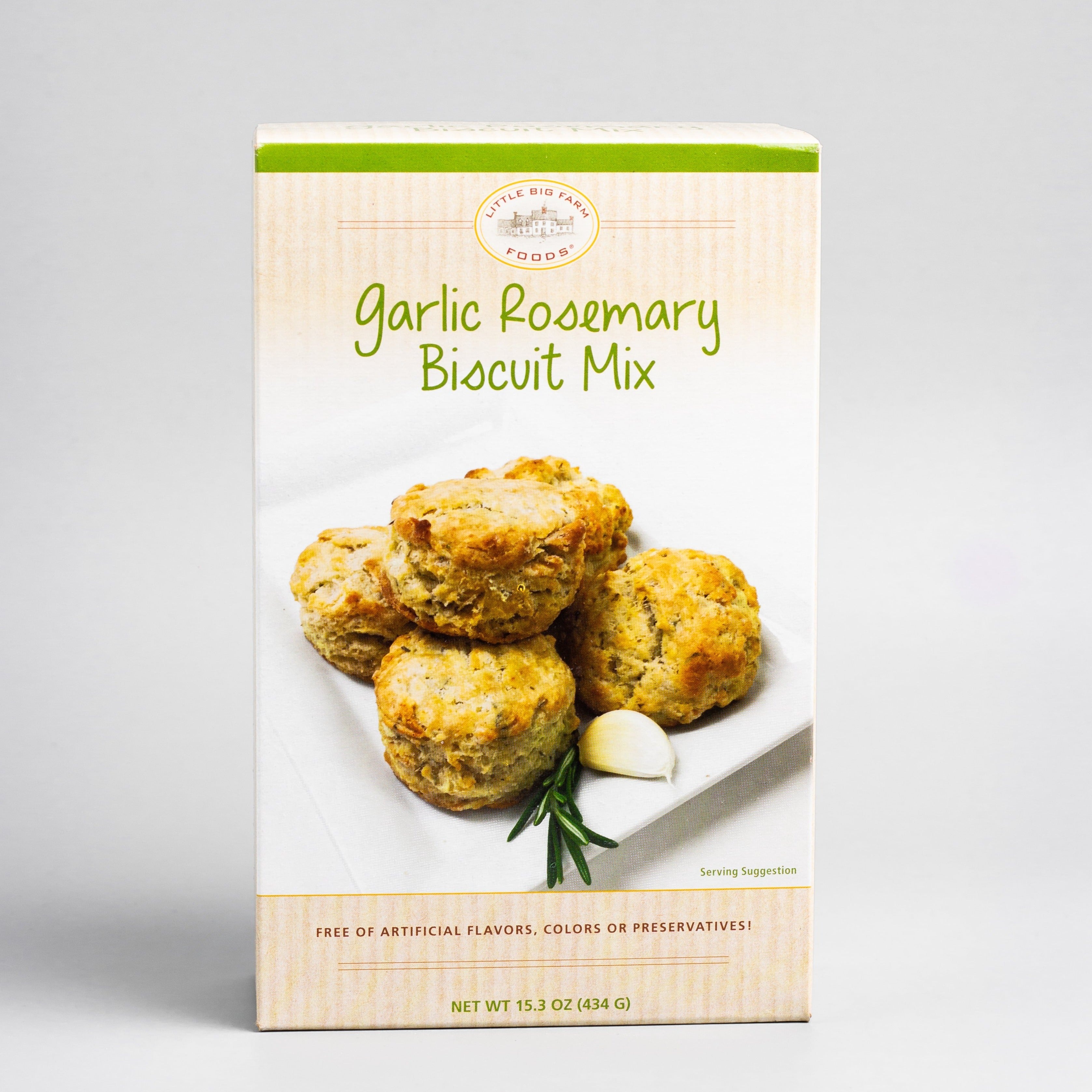 Garlic Rosemary Biscuit Mix