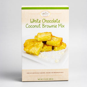 White Chocolate Coconut Brownie Mix