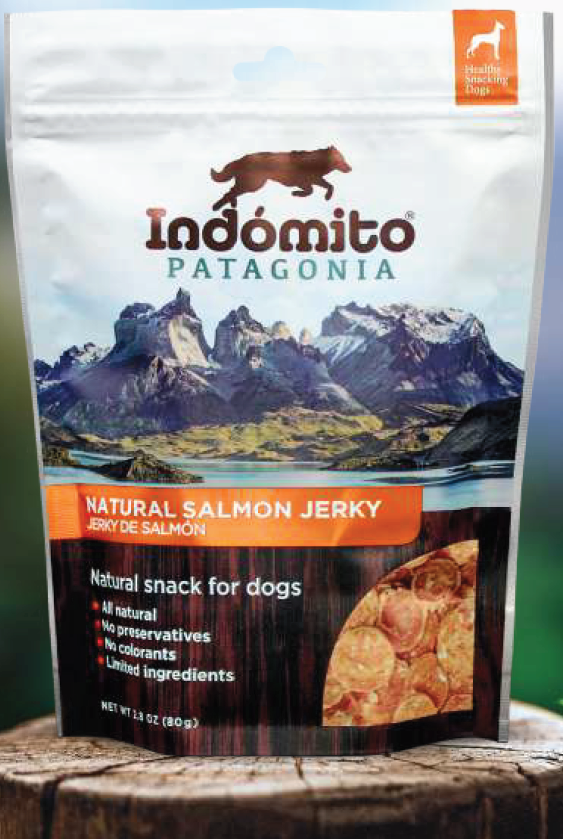 Indomito Natural Salmon Jerky 80g