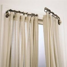 White curtain- Dilwana - African craft online shop