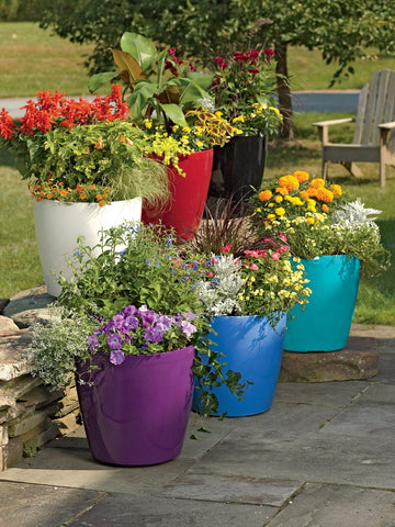 colorful flower pot - Botswana online shop- Dilwana