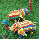 Load image into Gallery viewer, Elephant Wired and Beads - African Craft