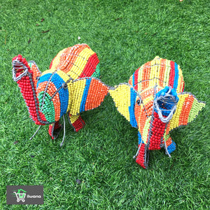 Elephant Wired and Beads - African Craft
