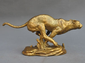 Fengshui Cheetah  Sculpture