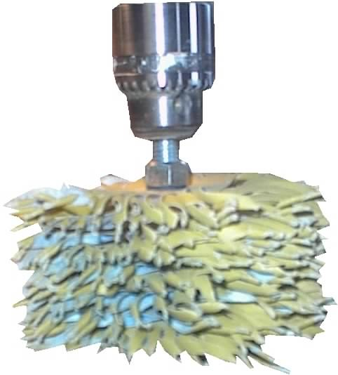 Fluffy Sanding Mop Kit