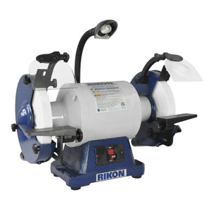 "Rikon 8"" 1 HP Slow Speed Grinder 80-808"