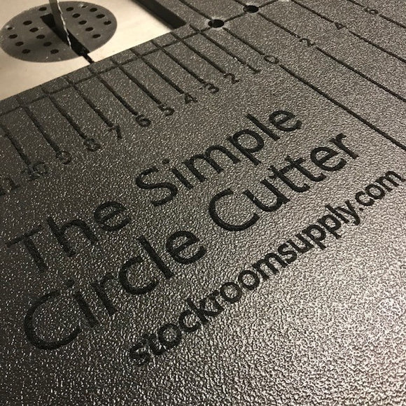 Simple Circle Cutter