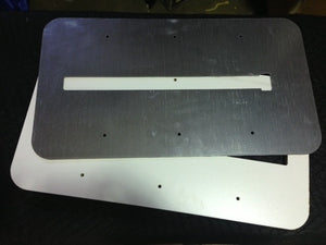 Steel Top Plate with MDF Base for Drum Sander