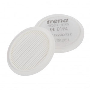 Pair of N100 filters for AIR STEALTH half mask