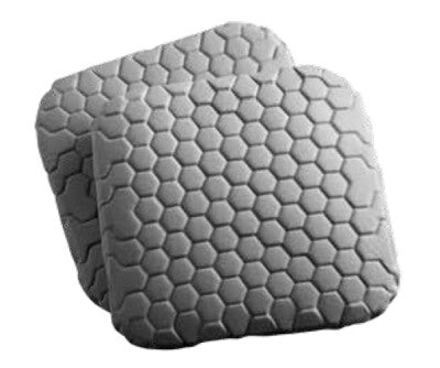 Hex Thigh Pad Inserts Gray
