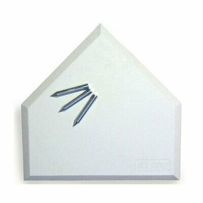 Home Plate 3 Spikes (Blanco) ABP600