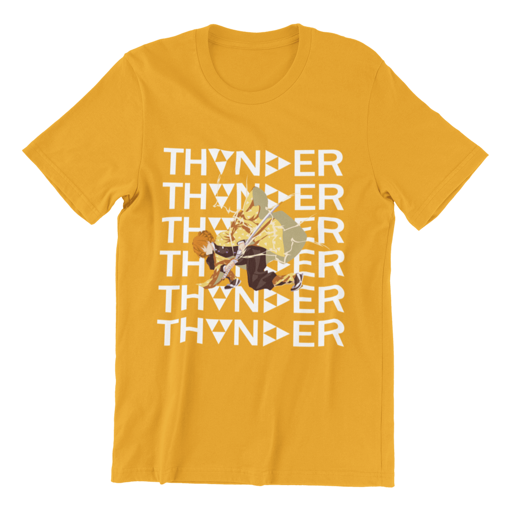 Zenitsu Agatsuma Thunder Tshirt - Animehoodies.in
