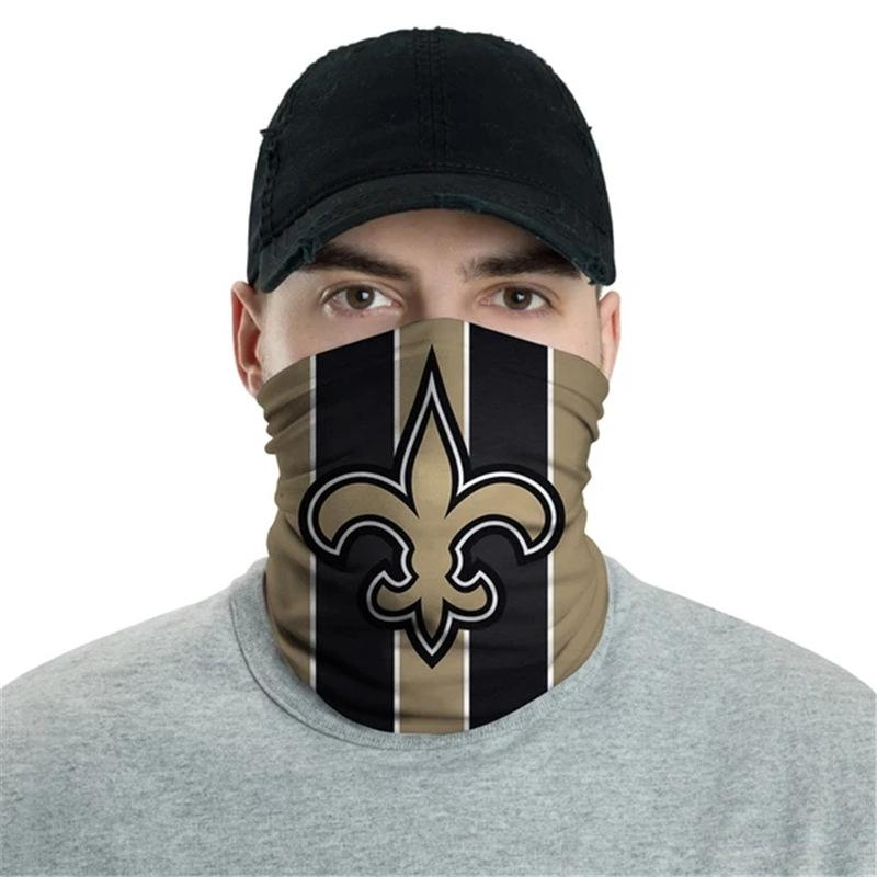 New Orleans Saints Logo Face Mask Bandanas