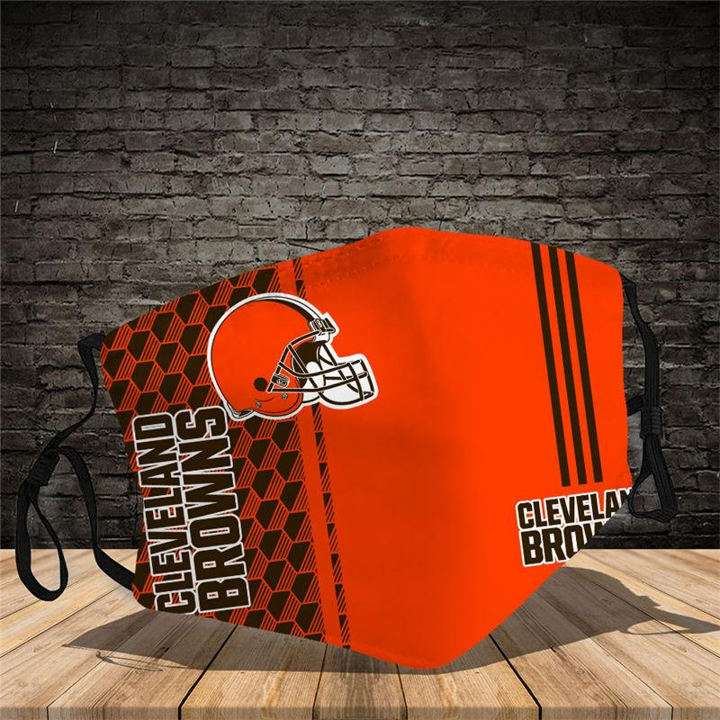 Cleveland Browns Vertical Face Mask