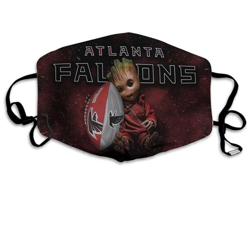 Groot  Atlanta Falcons Face Mask