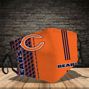 Chicago Bears Vertical Face Mask
