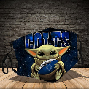 Master Yoda  Indianapolis Colts  Face Mask