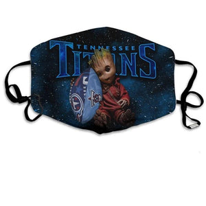 Groot  Tennessee Titans  Face Mask