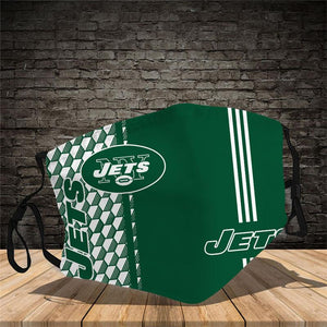 New York Jets  Vertical Face Mask