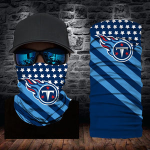 Tennessee Titans Flag Face Mask Bandanas
