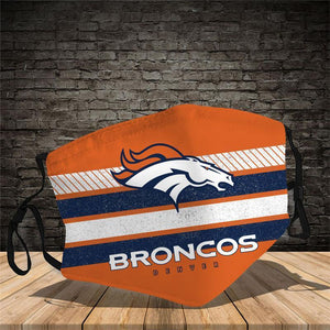 Denver Broncos Face Mask
