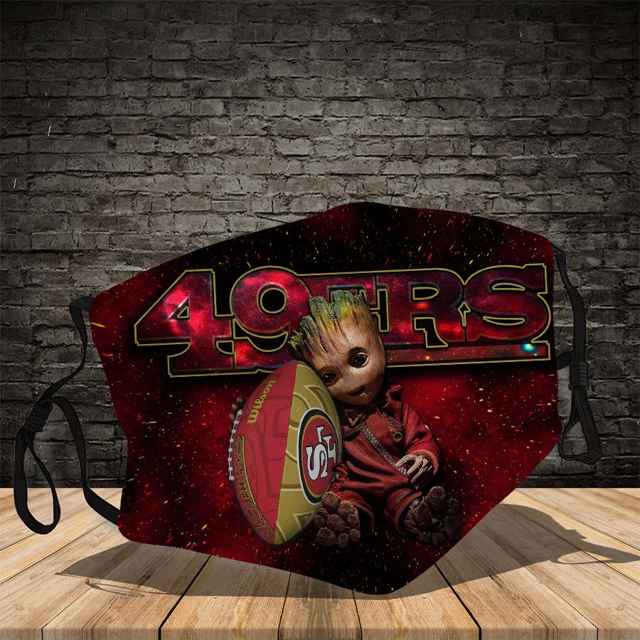 Groot  San Francisco 49ers  Face Mask