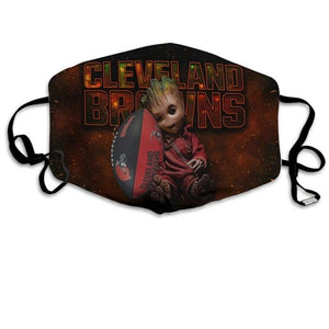 Groot  Cleveland Browns Face Mask