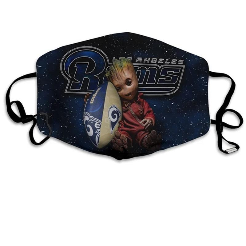 Groot  Los Angeles Rams Face Mask