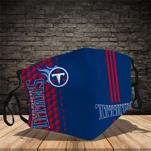 Tennessee Titans Vertical Face Mask