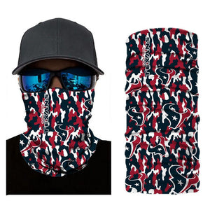 Houston Texans Camouflage Face Mask Bandanas