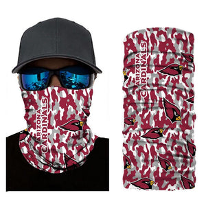Arizona Cardinals Camouflage Face Mask Bandanas