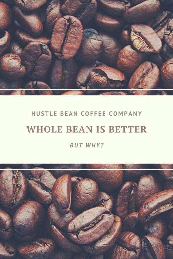 Hustle Bean Coffee Why Whole Bean is Better for Entrepreneurs