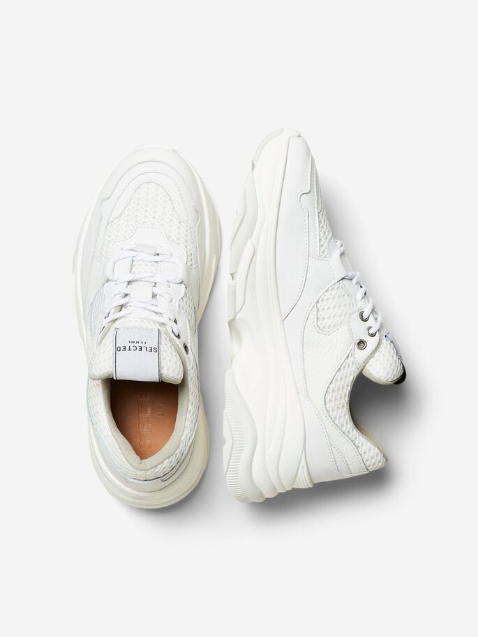Selected Femme | Slfgavina trainer white | Shop nu bij She Stories