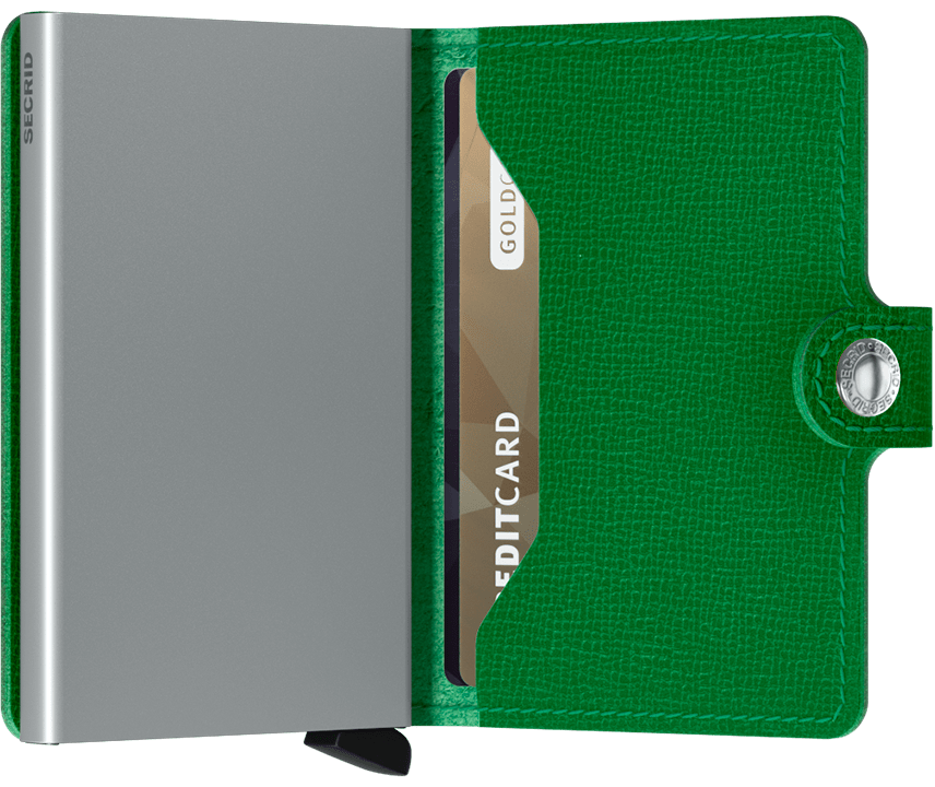 Secrid - Miniwallet Crisple Light Green