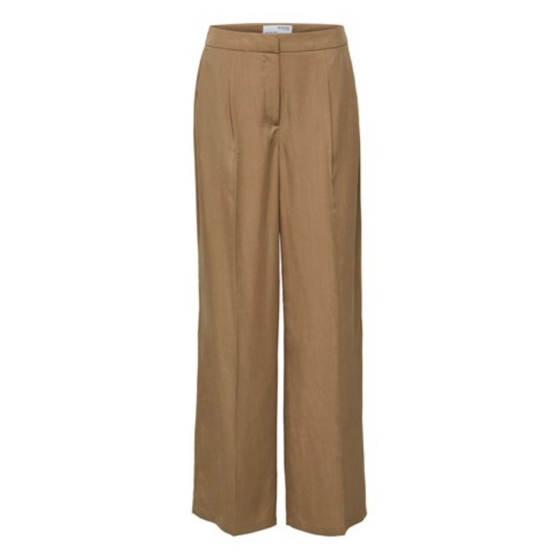 Selected Femme | Slftinni mw wide pant | Shop nu bij She Stories