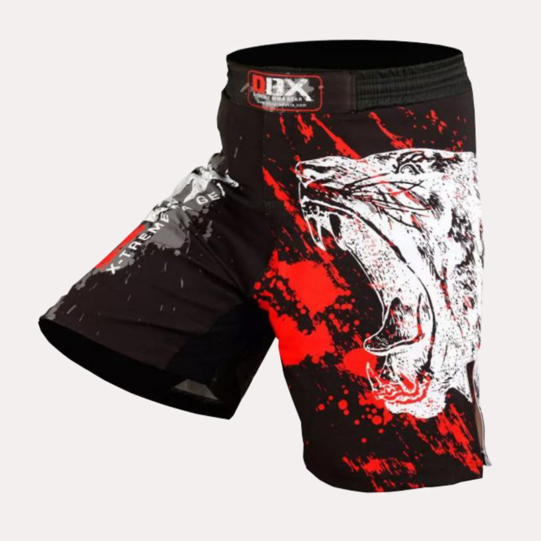 DBXGEAR MMA Grappling Kick Boxing Shorts - Bear Print