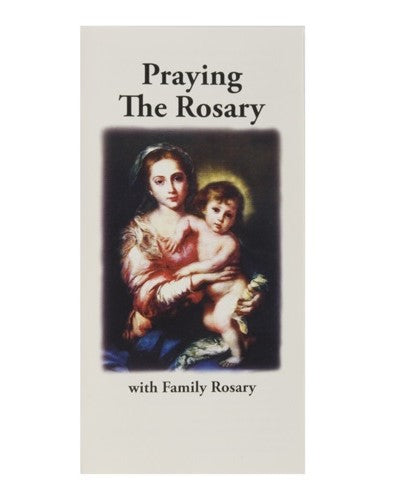 Praying the Family Rosary Pamphlet
