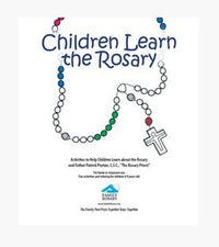 Children Learn the Rosary Activity Binder