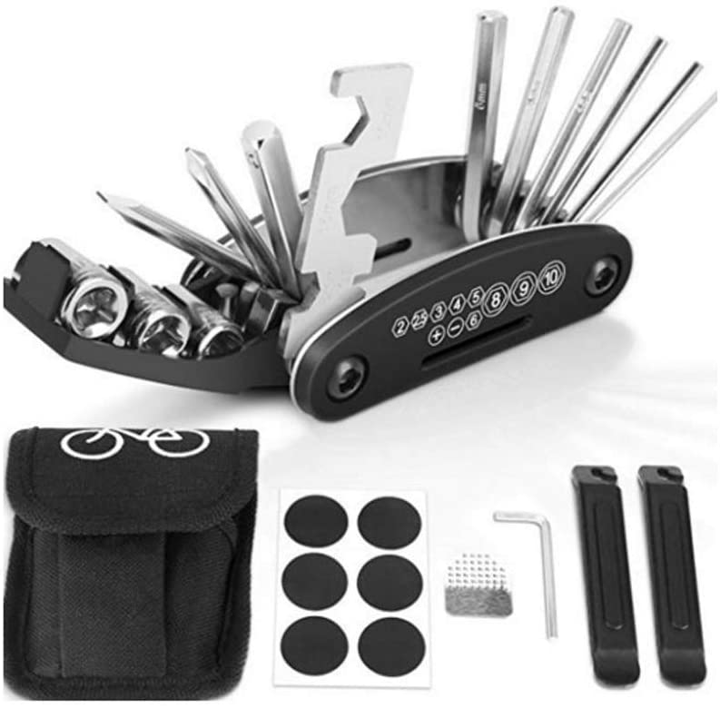 Multitool and Tyre Repair Kit with Pry Bars